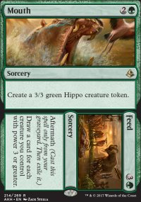 Mouth / Feed - Amonkhet