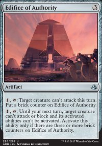 Edifice of Authority - Amonkhet
