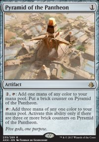 Pyramid of the Pantheon - Amonkhet