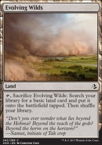 Evolving Wilds - Amonkhet