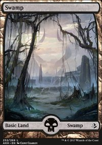 Swamp 1 - Amonkhet