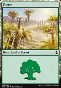 Forest 4 - Amonkhet