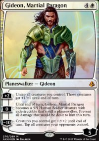 Gideon, Martial Paragon - Amonkhet