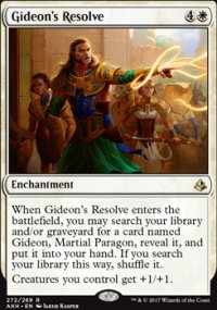 Gideon's Resolve - Amonkhet