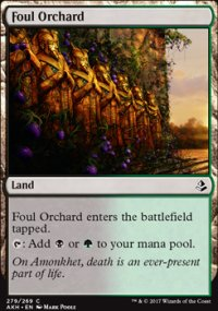 Foul Orchard - Amonkhet