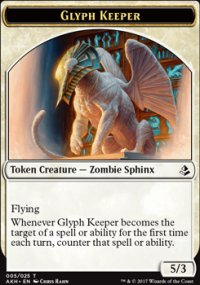 Glyph Keeper Token - Amonkhet