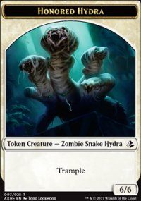 Honored Hydra Token - Amonkhet