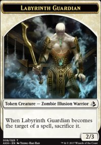 Labyrinth Guardian Token - Amonkhet