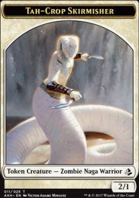 Tah-Crop Skirmisher Token - Amonkhet