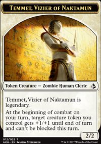 Temmet, Vizier of Naktamun Token - Amonkhet