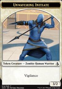 Unwavering Initiate Token - Amonkhet