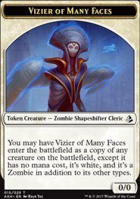 Vizier of Many Faces Token - Amonkhet
