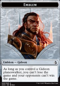 Emblem Gideon of the Trials - Amonkhet