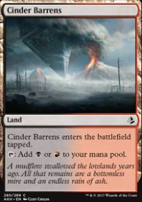 Cinder Barrens - Amonkhet