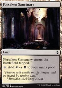 Forsaken Sanctuary - Amonkhet
