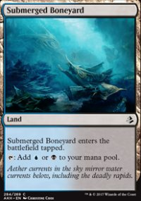 Submerged Boneyard - Amonkhet