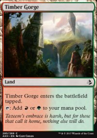 Timber Gorge - Amonkhet