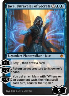 Jace, Unraveler of Secrets - Amonkhet Remastered