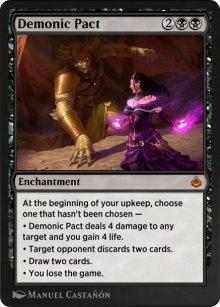 Demonic Pact - Amonkhet Remastered