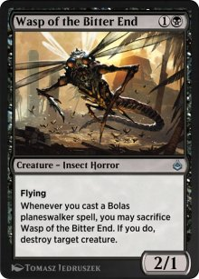 Wasp of the Bitter End - Amonkhet Remastered