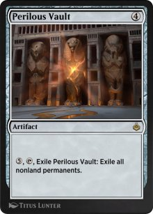 Perilous Vault - Amonkhet Remastered