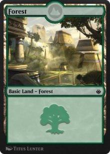 Forest 1 - Amonkhet Remastered