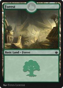 Forest 7 - Amonkhet Remastered