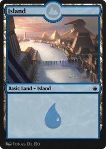 Island 1 - Amonkhet Remastered