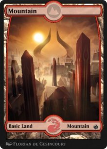 Mountain 4 - Amonkhet Remastered