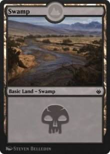 Swamp 2 - Amonkhet Remastered