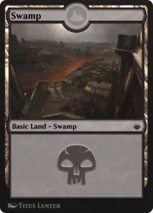 Swamp 7 - Amonkhet Remastered