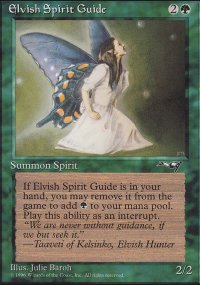 Elvish Spirit Guide - Alliances