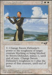 Sworn Defender - Alliances