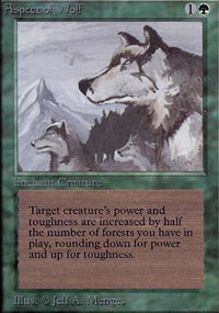 Aspect of Wolf - Limited (Alpha)