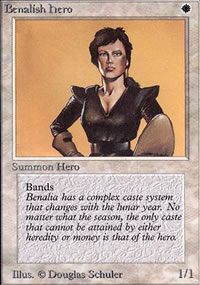 Benalish Hero - Limited (Alpha)