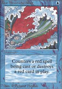 Blue Elemental Blast - Limited (Alpha)