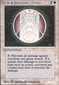 Circle of Protection: Green - Limited (Alpha)