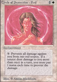 Circle of Protection: Red - Limited (Alpha)