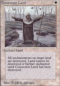 Consecrate Land - Limited (Alpha)