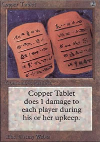 Copper Tablet - Limited (Alpha)