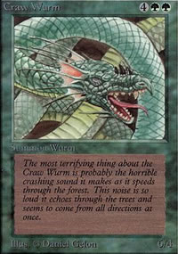 Craw Wurm - Limited (Alpha)