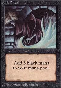 Dark Ritual - Limited (Alpha)