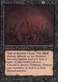Demonic Hordes - Limited (Alpha)