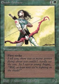 Elvish Archers - Limited (Alpha)