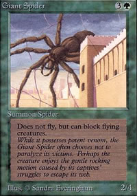 Giant Spider - Limited (Alpha)