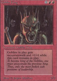 Goblin King - Limited (Alpha)