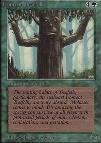 Ironroot Treefolk - Limited (Alpha)