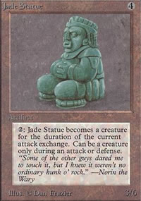 Jade Statue - Limited (Alpha)