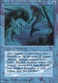 Merfolk of the Pearl Trident - Limited (Alpha)