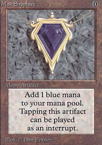 Mox Sapphire - Limited (Alpha)